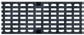Решетка чугунная продольно-поперечная 0,5м. для каналов ACO V 150, Drainlock, C250