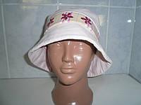 Польская шапка для девочки c полями Bexa Lenka, вельвет р.53