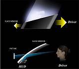 5.5 дюйма 4E Бортовий комп'ютер, проектор на лобове скло HUD OBD2, фото 2
