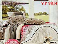 Постельное белье, евро комплект, ранфорс, Вилюта (VILUTA) VР 9814