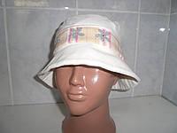 Польская шапка для девочки c полями Bexa Lenka, вельвет р.47