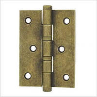 Дверная петля 102х76х2,5 мм, универсальная, допустимая нагрузка на 2 петли 60 кг.