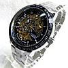Мужские механические часы Слава скелетон  С4638