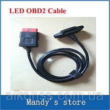 Основний кабель з підсвічуванням для DELPHI DS150 obd2