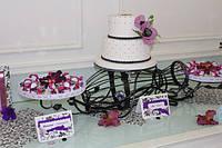 Кованая подставка под торт, фото 1