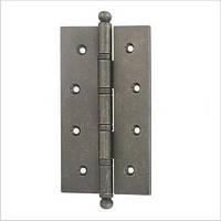 Дверная петля 152х89х2,5 мм, универсальная, допустимая нагрузка на 2 петли 80 кг.