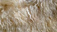 Волос для куклы, на шкуре длина 16-17см. Ангорская коза.