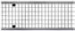Решетка ячеистая нержавеющая сталь 0,5 м. для каналов ACO V 150, Drainlock, C250