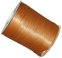 Косая бейка золотой песок, лента N8150  1.5 см 1м