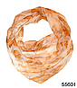 Платок женский из натурального шелка 100*100 (55601)