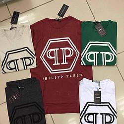 Мужская футболка брендовая philipp plein