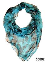 Купить платок женский из натурального шелка 100*100 (55602)