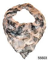 Купить платок женский из натурального шелка 100*100 (55603)