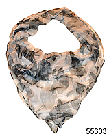 Платок женский из натурального шелка 100*100 (55603)