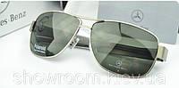 Солнцезащитные очки Mercedes (618) серебрянная оправа