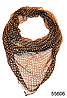 Платок женский из натурального шелка 100*100 (55606)