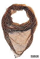 Купить платок женский из натурального шелка 100*100 (55606)