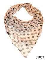 Купить платок женский из натурального шелка 100*100 (55607)