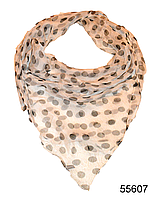 Платок женский из натурального шелка 100*100 (55607)