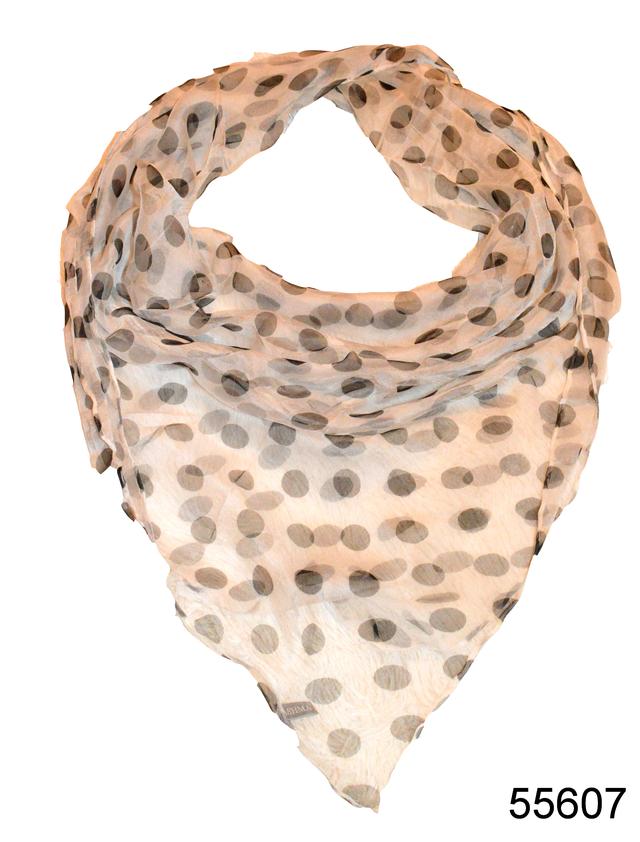 Платок женский из натурального шелка 100*100 (55607) 1
