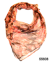 Платок женский из натурального шелка 100*100 (55608), фото 1