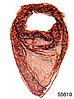Платок женский из натурального шелка 100*100 (55610)