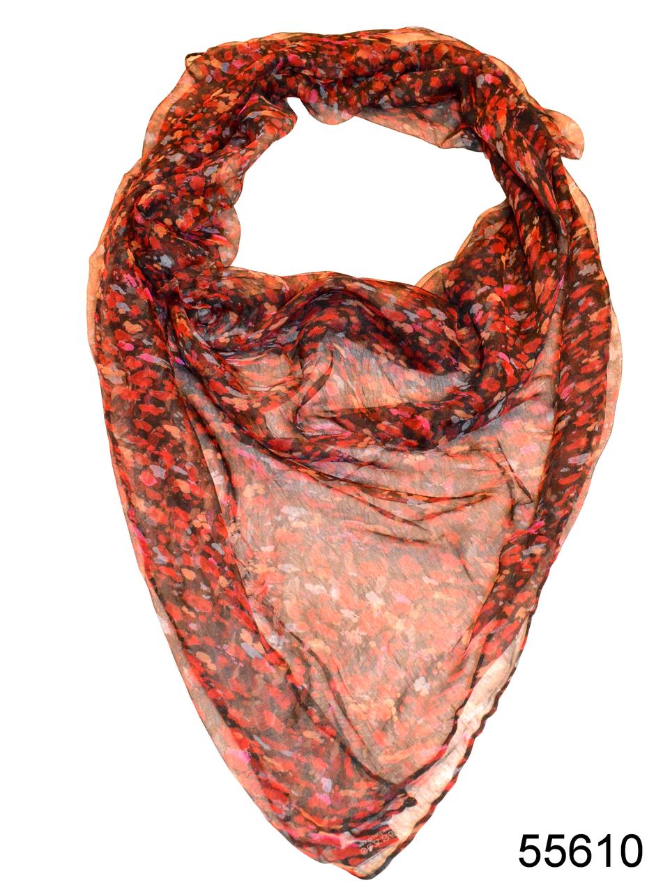 Платок женский из натурального шелка 100*100 (55610), фото 1