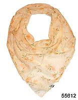 Платок женский из натурального шелка 100*100 (55612)