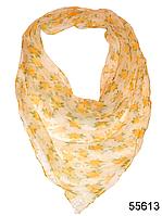 Купить платок женский из натурального шелка 100*100 (55613)