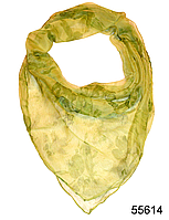 Платок женский из натурального шелка 100*100 (55614)