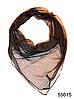 Платок женский из натурального шелка 100*100 (55615)