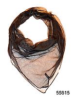 Платок женский из натурального шелка 100*100 (55615), фото 1