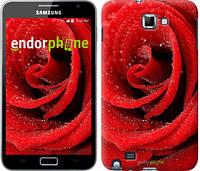 """Чехол на Samsung Galaxy Note i9220 Красная роза """"529u-316"""""""