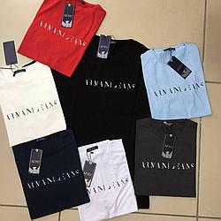 Мужская футболка брендовая armani jeans