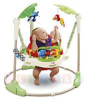 """Детское кресло прыгунки-качели  """"Тропический лес, , фото 1"""