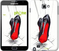 "Чехол на Samsung Galaxy Note i9220 Devil Wears Louboutin ""2834u-316"""