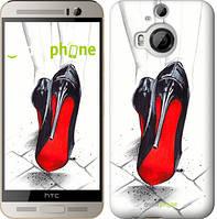 "Чехол на HTC One M9 Plus Devil Wears Louboutin ""2834u-134"""