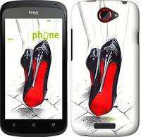 """Чехол на HTC One S z560e Devil Wears Louboutin """"2834u-226"""""""