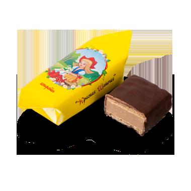 Красная шапочка белорусские шоколадно-вафельные конфеты от Коммунарки