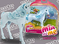 "Mia & Me Wind Unicorn, 13 см ( Мини-единорог Ветер из м/ф ""Мия и Я"" Mattel CFD65, Mia and Me)"