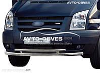 Двойная защита переднего бампера для Ford Transit 2006-2014