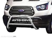 Кенгурятник для Ford Transit 2014-...  п.к. RR006