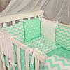 Комплект постельного белья для девочек и мальчиков Baby Design звезды