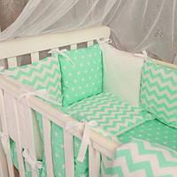 Комплект постельного белья для девочек и мальчиков Baby Design звезды, фото 1