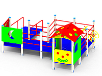 Детский игровой комплекс E17