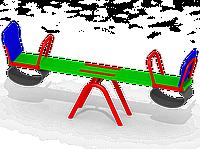Качели-балансир K21