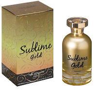 Парфюмированная вода Sublime Gold, 100 мл
