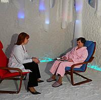 Строительство соляных комнат для медецинских учереждений