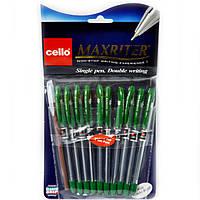 Ручка Maxriter оригинал масляная зеленая набор