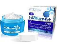 Белкосмекс Hialuron+ Крем интенсивное увлажнение, разглаживание глубоких морщин, для всех типов кожи 50+, 48мл